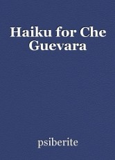 Haiku for Che Guevara