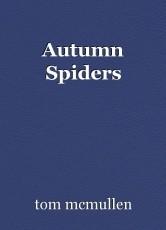Autumn Spiders