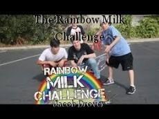 The Rainbow Milk Challenge