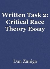 Written Task 2: Critical Race Theory Essay