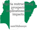 Nigeria restructuring : prospects, implications,and impacts.