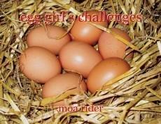 egg girl's challenges