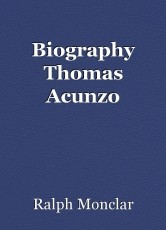 Biography Thomas Acunzo