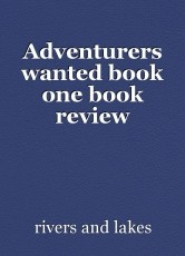 Adventurers wanted book one book review