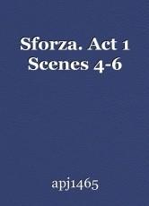 Sforza. Act 1 Scenes 4-6