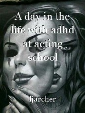 A day in the life with adhd at acting school