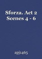 Sforza. Act 2 Scenes 4 - 6