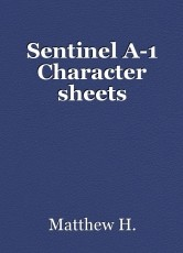 Sentinel A-1 Character sheets