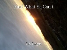 Find What Ya Can't
