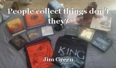 People collect things don't they?