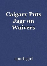 Calgary Puts Jagr on Waivers