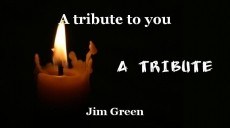 A tribute to you
