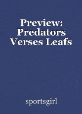 Preview: Predators Verses Leafs