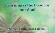Learning is the Food for our Soul