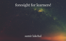 foresight for learners!