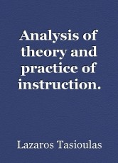 Analysis of theory and practice of instruction.