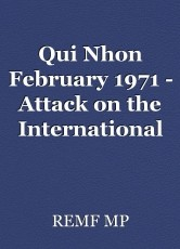 Qui Nhon February 1971 - Attack on the International Shell Storage Yard