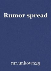 Rumor spread