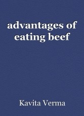advantages of eating beef