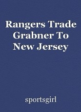 Rangers Trade Grabner To New Jersey