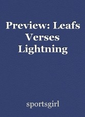 Preview: Leafs Verses Lightning