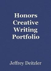 Honors Creative Writing Portfolio