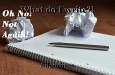 What do I write?!