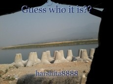 Guess who it is??