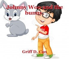 Johnny Woo and the bunny.