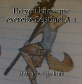 Do you know me exercise Sentinel A-1
