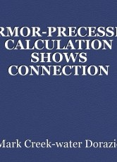 LARMOR-PRECESSION CALCULATION SHOWS CONNECTION BETWEEN THEORETICAL WORK OF STERNGLASS AND SIMHONY