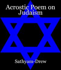 Acrostic Poem on Judaism
