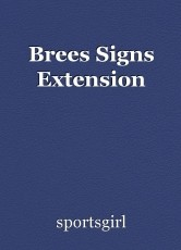 Brees Signs Extension