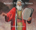 Acrostic Poem on Moses