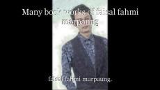 Many book works of faisal fahmi marpaung