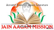 Acrostic Poem on Agam Literature