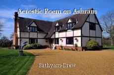 Acrostic Poem on Ashram