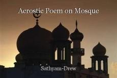 Acrostic Poem on Mosque