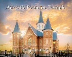 Acrostic Poem on Temple