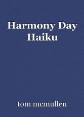 Harmony Day Haiku