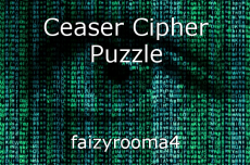 Ceaser Cipher Puzzle