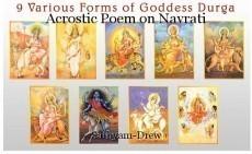 Acrostic Poem on Navrati