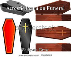 Acrostic Poem on Funeral