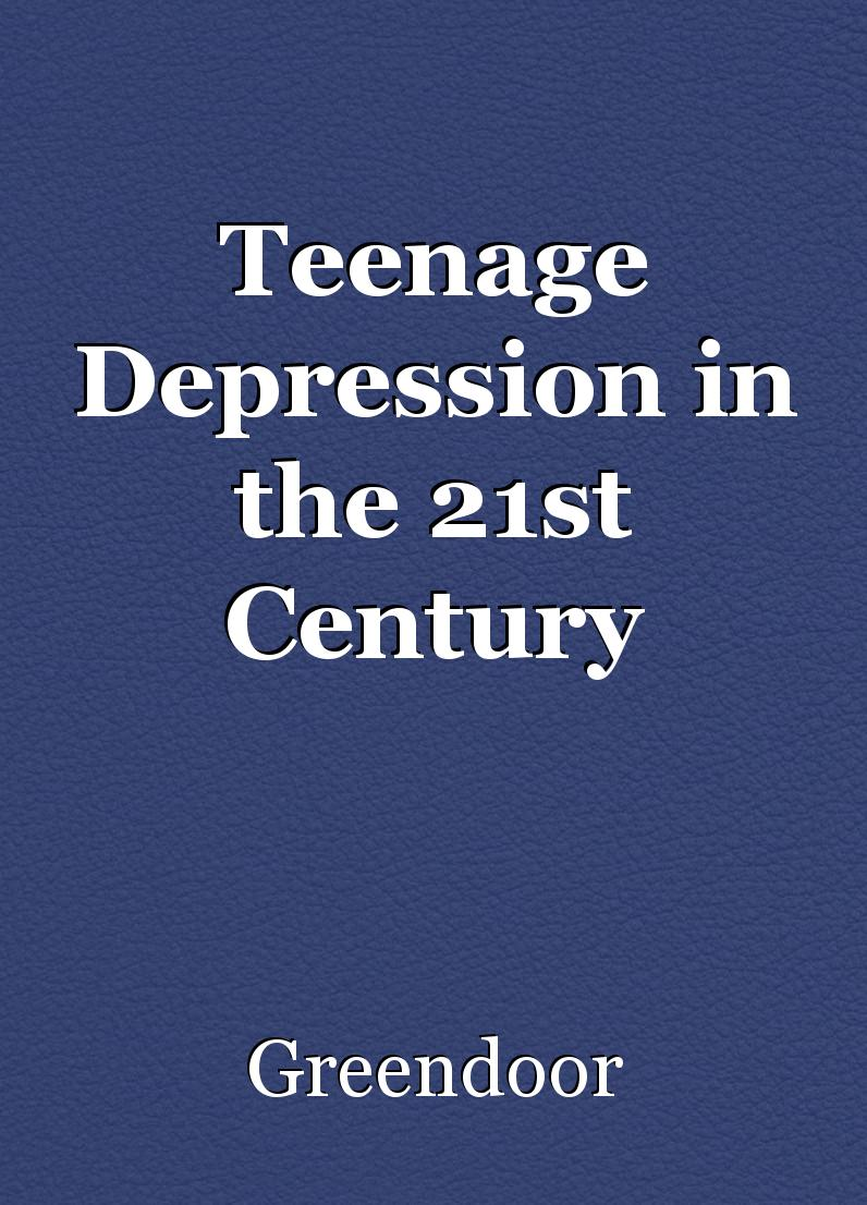 Teenage depression essay