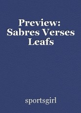 Preview:  Sabres Verses Leafs