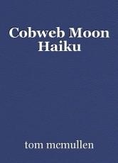 Cobweb Moon Haiku