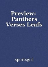 Preview:  Panthers Verses Leafs