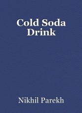 Cold Soda Drink