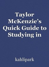 Taylor McKenzie's Quick Guide to Studying in Japan