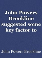 John Powers Brookline suggested some key factor to deal with failure
